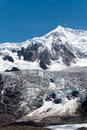 Midui glacier ancient of tibet china Stock Photos