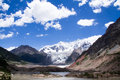 Midui glacier the ancient of tibet china Royalty Free Stock Image