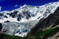 Midui glacier is located in the tibet people s republic of china it named one of china s most beautiful glaciers Stock Photography