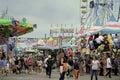 Midway, County Fair, San Diego, California Royalty Free Stock Photo
