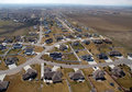 Midwest Suburbia Aerial Royalty Free Stock Photos