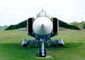 Mig old jet fighter Stock Image