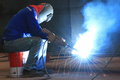 MIG Welder Royalty Free Stock Photo