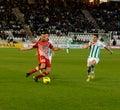Miguel Gonzalez From Girona F.C. match league Stock Photos