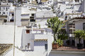 Mijas roofs photography of typical and terase andalusia spain Stock Photo