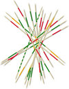 Mikado pick-up sticks Royalty Free Stock Photos