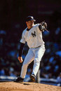 Mike mussina new york yankees former pitcher image taken from color slide Royalty Free Stock Image