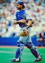 Mike Piazza Los Angeles Dodger Stock Photo