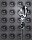 Mike&Speakers Royalty Free Stock Photo