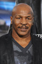 Mike tyson los angeles ca april at the los angeles premiere of draft day at the regency village theatre westwood Royalty Free Stock Photos