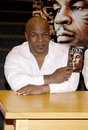 Mike tyson promotes the blu ray and dvd held at the borders in hollywood usa on august Royalty Free Stock Photography