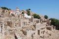 Mikro Chorio, Tilos island Royalty Free Stock Photo