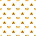 Milady crown pattern seamless