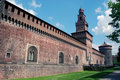 Milan - Castello Sforzesco, Sforza Castle Royalty Free Stock Images
