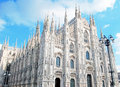 Milan Cathedral - Duomo Royalty Free Stock Image