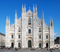 Milan Cathedral - Duomo Royalty Free Stock Photo