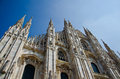 Milan cathedral the duomo s is one of the largest churches in the world Stock Image