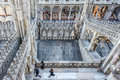 Milan cathedral marble from above Royalty Free Stock Photo
