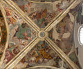 Milan - chapel cupola of San Marco Royalty Free Stock Photo