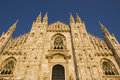 Milan Dome Cathedral Stock Images
