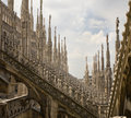 Milan Duomo detail Royalty Free Stock Photography