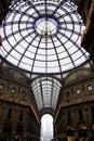 Milan galleria vittorio emanuele ii photo taken on july th Royalty Free Stock Photography