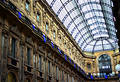 Milan Gallery Royalty Free Stock Photos