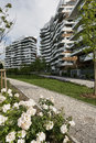 Milan italy citylife modern residential buildings in lombardy Stock Photo