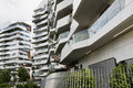 Milan italy citylife modern residential buildings in lombardy Stock Photography