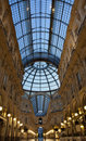 Milan Luxuous shopping mall Royalty Free Stock Photos