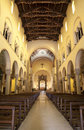 Milan - nave of Saint Augustin Royalty Free Stock Photos