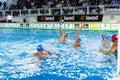 Milan october d filipovic bpm sport management shooting the ball in game bpm sport management acqua chiara milan Royalty Free Stock Images