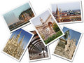 Milan Postcards Royalty Free Stock Photo