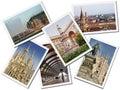 Milan Postcards Royalty Free Stock Photo