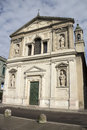 Milan san barnaba church mannerist facade lombardy the is the first edifice of the barnabites order – n Stock Photography