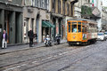 Milan tram Royalty Free Stock Photos