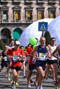 Milano City Marathon 2011 Royalty Free Stock Image