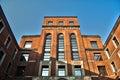 Milano, edificio de Camera del Lavoro Foto de archivo