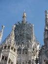 Milano italy milan gothic cathedral at the piazza del duomo Royalty Free Stock Image