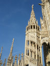 Milano italy milan gothic cathedral at the piazza del duomo Stock Image
