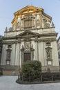 Milano ,San Giuseppe Church Royalty Free Stock Photo