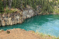 Miles Canyon, Whitehorse, Yukon, Canada Royalty Free Stock Photo