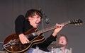 Miles Kane performs at FIB Royalty Free Stock Photo
