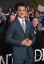 Miles teller los angeles ca march at the los angeles premiere of his movie divergent at the regency bruin theatre westwood Royalty Free Stock Image