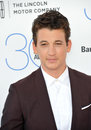 Miles teller santa monica ca february at the th annual film independent spirit awards on the beach in santa monica Royalty Free Stock Image