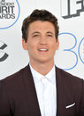 Miles teller santa monica ca february at the th annual film independent spirit awards on the beach in santa monica Royalty Free Stock Photography