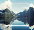 Milford Sound Fiordland New Zealand Concept Royalty Free Stock Photo