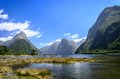 Milford Sound. New Zealand Royalty Free Stock Photo
