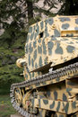 Militaire tanks detail Royalty-vrije Stock Foto's
