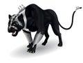 Militant black panther